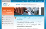 Webprojekt Silk Service